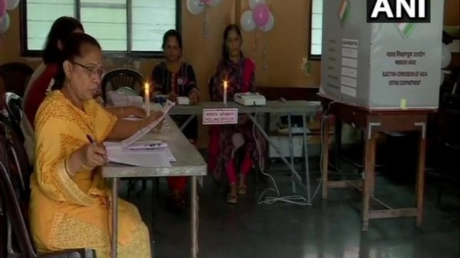 Maharashtra polls: Voting held in candlelight due to no electricity