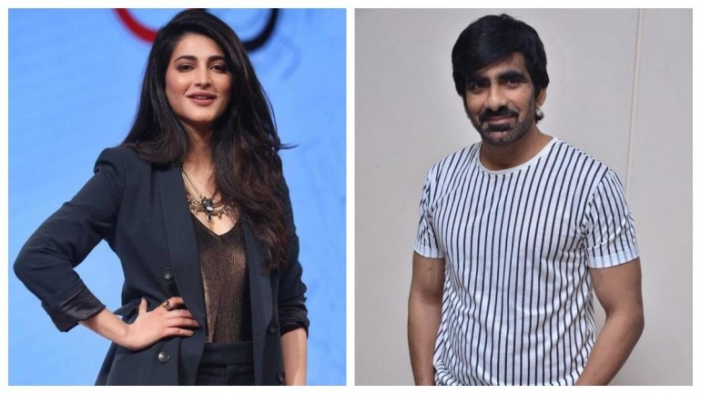 Shruti Haasan and Ravi Teja