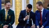 Rivalries stay on the field: Virat Kohli posts a throwback picture with AB de Villiers and Eoin Morgan