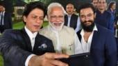 SRK, Aamir Khan hail PM Modi for initiative to popularise Gandhi's ideals via film industry
