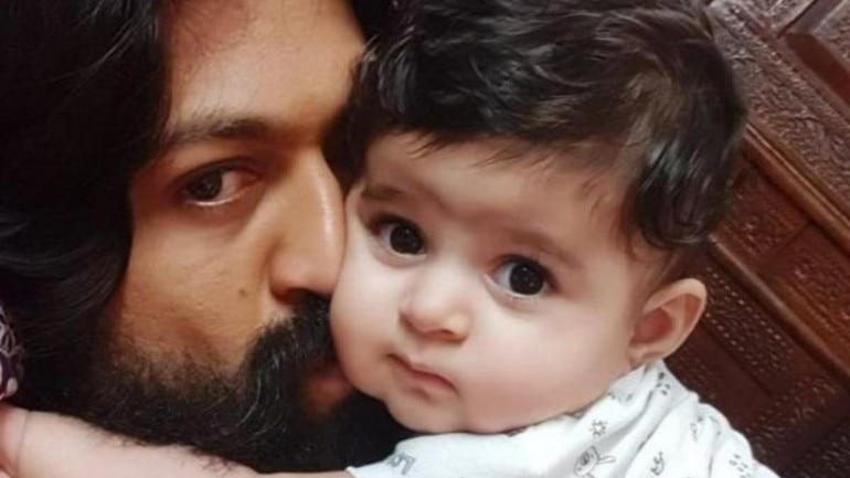 Yash and baby Ayra