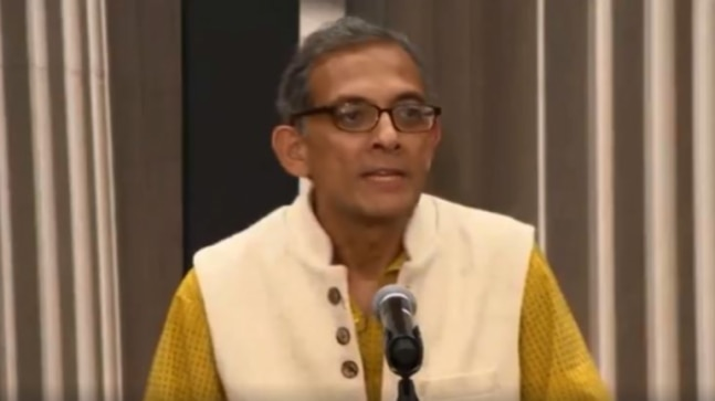 Abhijit Banerjee delivers speech in shuddh Bangla at MIT. Viral video is a blockbuster on Internet