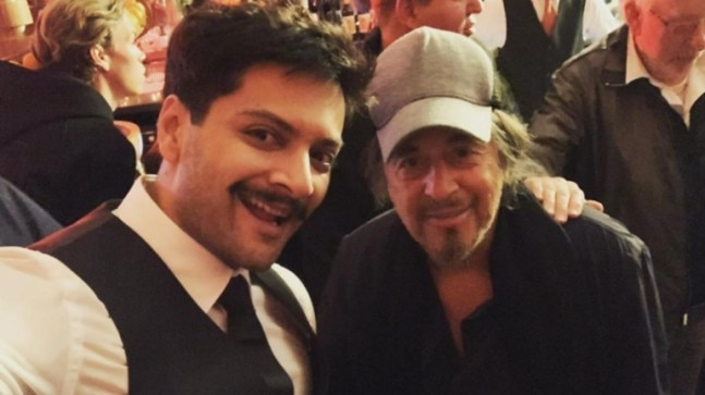 Ali Fazal's fanboy moment with Al Pacino: My best gift of 2019