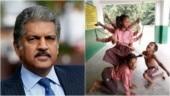 Anand Mahindra retweets pic of school children depicting Goddess Durga. His caption wins hearts