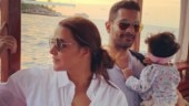 Neha Dhupia and Angad Bedi post adorable photos with daughter Mehr as she turns 11 months old