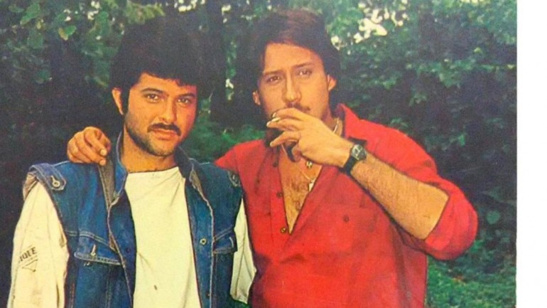 Anil Kapoor and Jackie Shroff worked together in a number of films.