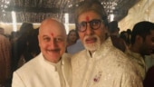 Anupam Kher shares fan moment with Amitabh Bachchan at Diwali party: I had missed my colleagues