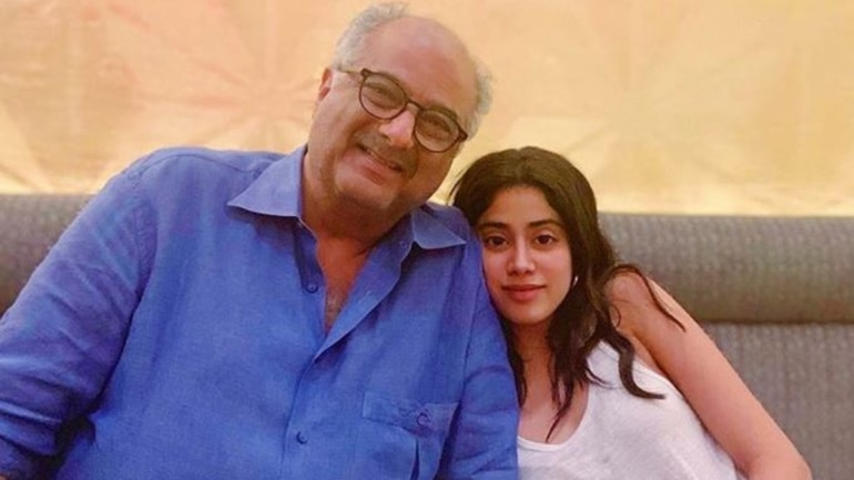 Boney Kapoor and Janhvi to work together for Bombay Girl