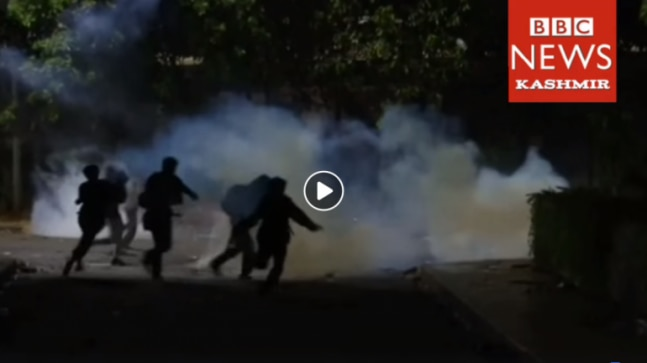 Fact Check: Viral video of teargas shelling is not from Kashmir but Jakarta