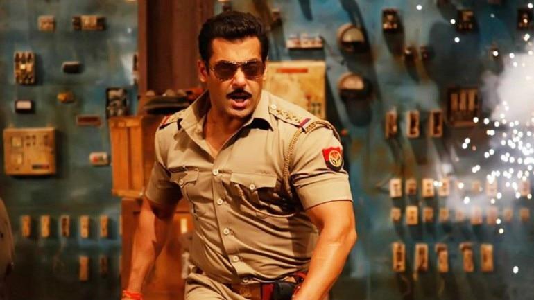 Salman Khan is back as Chulbul Pandey.