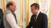 Rajnath Singh calls on Macron, discusses India-France defence ties