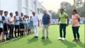 Manish Sisodia inaugurates AstroTurf hockey field at Delhi govt school