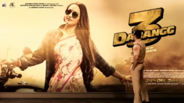 Dabangg 3 New Poster Salman Khan Introduces Sonakshi Sinha As His Super Sexy Mrs -3032