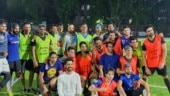 MS Dhoni, Leander Paes and Arjun Kapoor come together for charity football match in Mumbai