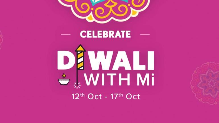 Diwali With Mi sale starts October 12