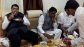 Fact Check: Old image of Devendra Fadnavis feasting goes viral amid PMC bank crisis