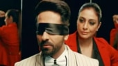 Ayushmann Khurrana and Tabu celebrate one year of AndhaDhun. Watch videos