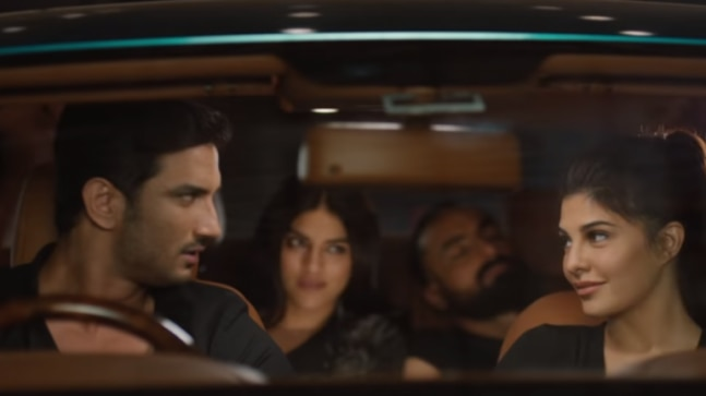 Drive trailer: Sushant Singh Rajput and Jacqueline Fernandez are all set to rob Rashtrapati Bhavan