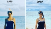 #20yearchallenge: Gul Panag sports 1999 swimsuit on Maldives vacay. Internet says we are impressed