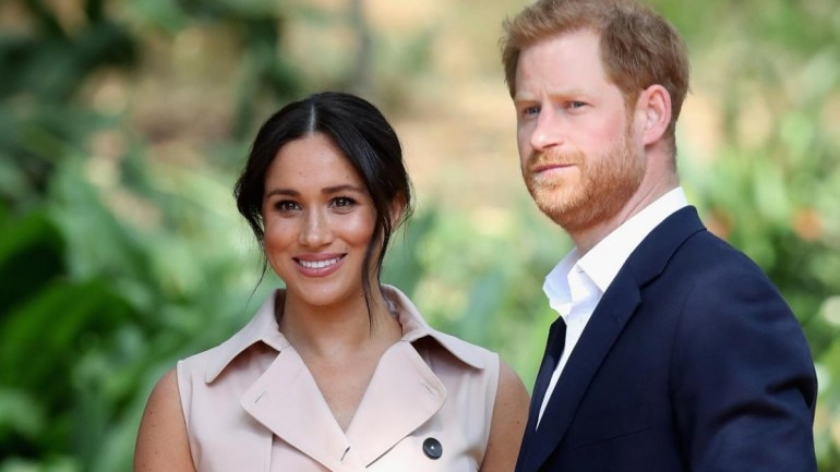 Meghan Markle and Prince Harry Photo: Reuters
