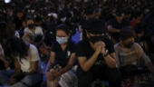 Hong Kong activist stabbed as protesters gird for march
