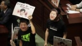 Hammer attack, thwarted speech stir more chaos in Hong Kong