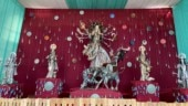 This pandal in Delhi is recycling waste material to make idols this Durga Puja