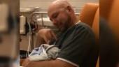 Deaf man talks to newborn daughter in sign language. Internet is in tears