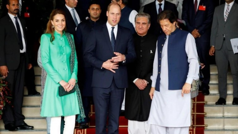 william and kate visit Pakistan