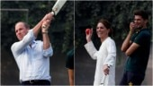 Prince William hits a six, Kate Middleton plays cricket in Lahore. Internet loves viral video