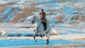 North Korean leader Kim Jong Un rides horse on sacred peak, vows to fight US sanctions