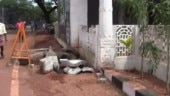 Tamil Nadu: 700-year-old temple structure collapses in Mamallapuram