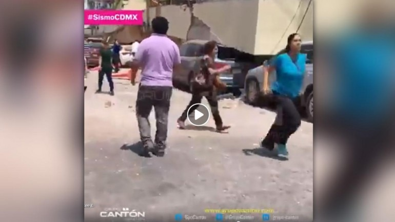 Fact Check: Viral video of Mexico earthquake is 2 years old