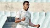 Abhimanyu Mithun 1st Karnataka bowler to take hat-trick in Vijay Hazare Trophy