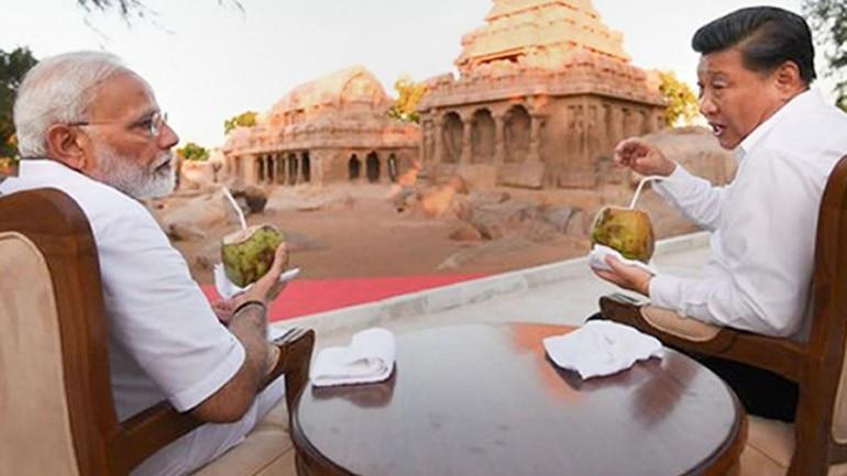 Modi, Xi visit sea-facing Shore Temple during informal summit