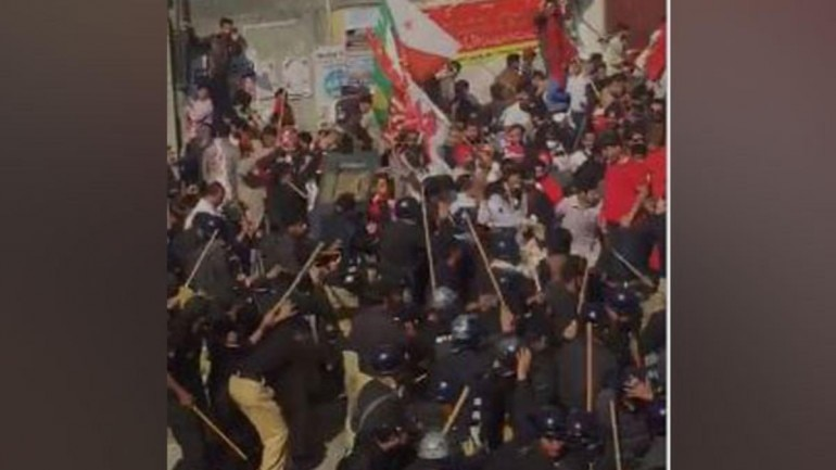 PoK protest