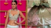 Nia Sharma's outfit caught fire during Diwali celebrations. See pic