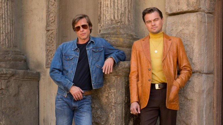 Once Upon a Time in Hollywood stars Brad Pitt and Leonardo DiCaprio in lead roles.