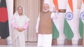 PM Modi talks bilateral cooperation with Bangladeshi PM Sheikh Hasina