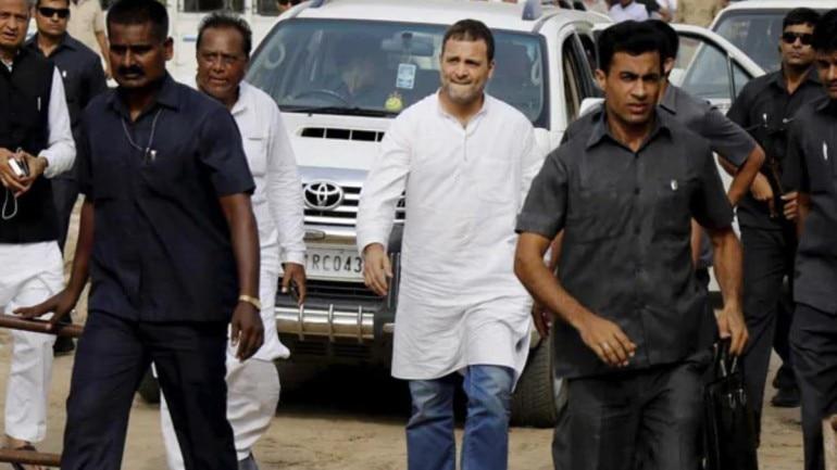 Rahul Gandhi, SPG
