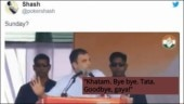 Rahul Gandhi is the latest viral meme after khatam-tata speech. See the best ones