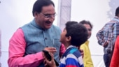 HRD Minister interacts with children under 'Dhruv' initiative