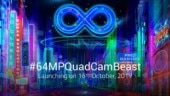 Redmi Note 8 Pro India launch set for October 16, will bring 64MP quad camera