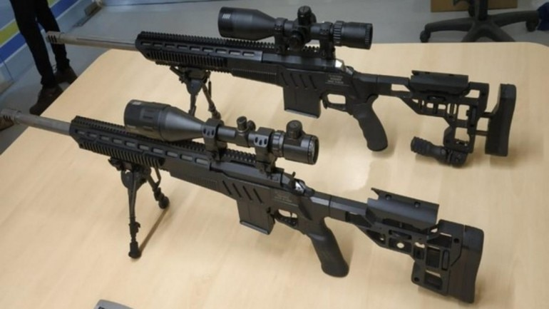 In a first, two indigenous sniper rifles developed by Bengaluru-based firm