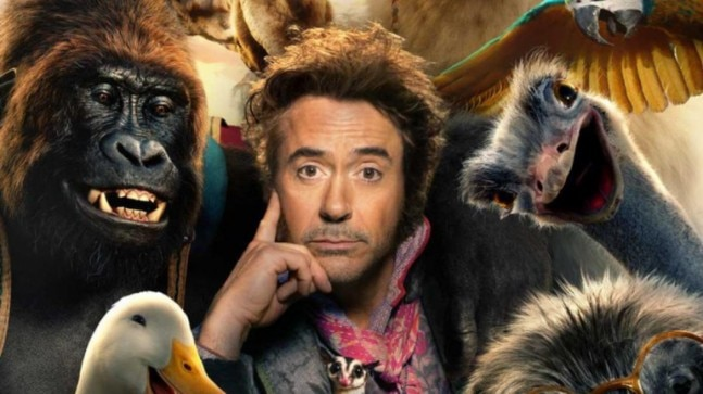 Dolittle first poster: Robert Downey Jr is all set to be an animal-whisperer