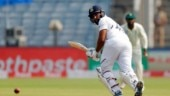 Rohit Sharma flops in 1st innings of Pune Test after twin hundreds in Vizag