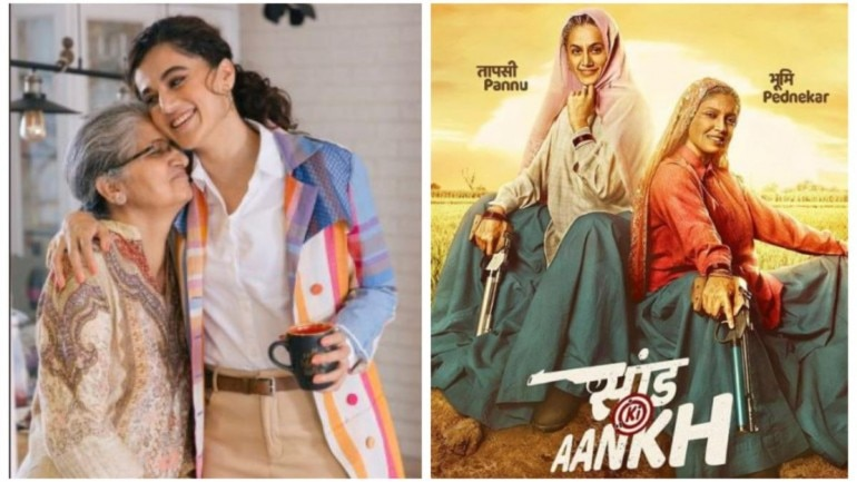 Taapsee Pannu has watched Saand Ki Aankh with her mom