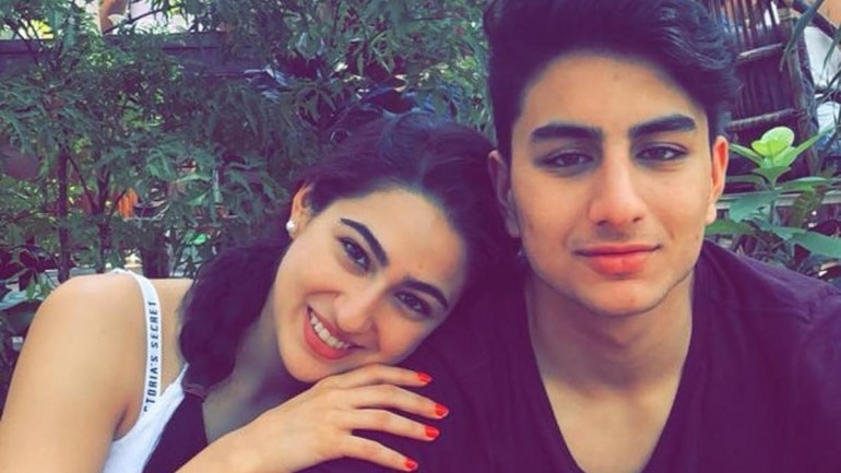 Sara Ali Khan shared hilarious videos with brother Ibrahim on Instagram.