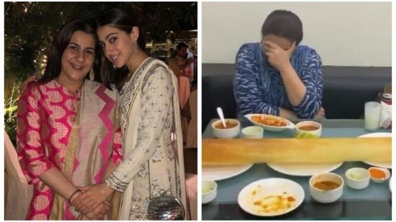 Sara Ali Khan spends time with mom Amrita Singh