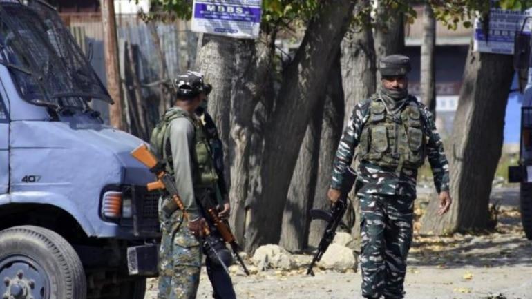 Image result for Kulgam security alert after the attack